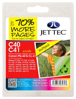 Jettec PG 40 CL 41